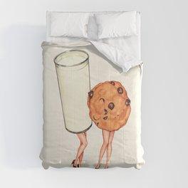 Milk & Cookie Pin-Ups Comforters