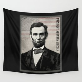 Abraham Lincoln Wall Tapestry