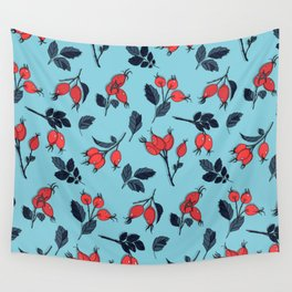 Red viburnum berries Wall Tapestry
