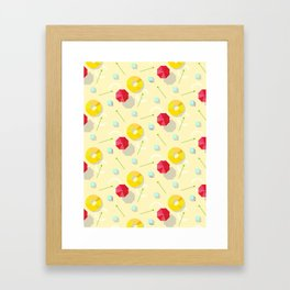 summer feel Framed Art Print