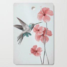 Hummingbird with Hibiscus Cutting Board