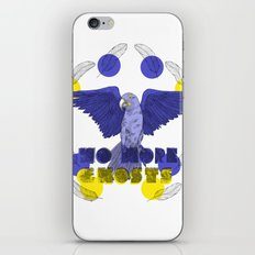 No More Ghosts - Glaucous Macaw iPhone & iPod Skin