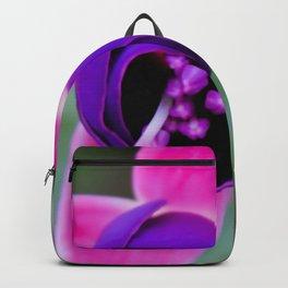 flower princess earring Backpack