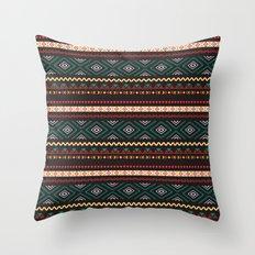 Tribal #4 * Ethno Ethnic Aztec Navajo Pattern Boho Chic Throw Pillow