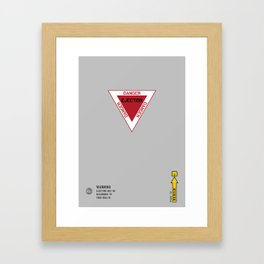 Eject! EjeCT!! EJECT!!! Framed Art Print