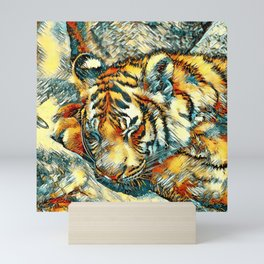 AnimalArt_Tiger_20170606_by_JAMColorsSpecial Mini Art Print
