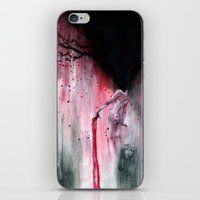 sakura iPhone & iPod Skins featuring Sakura by Iris Compiet