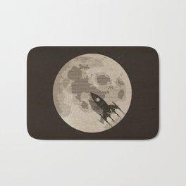 Around the Moon Bath Mat