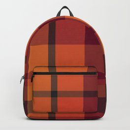 Fall Plaid Backpack