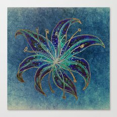 Blue Lily Canvas Print