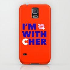 #I'mwithCher Logo #2 Galaxy S5 Slim Case