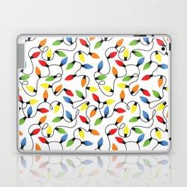 Endless Christmas Lights Laptop & iPad Skin