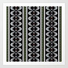 primitive beat kenya Art Print