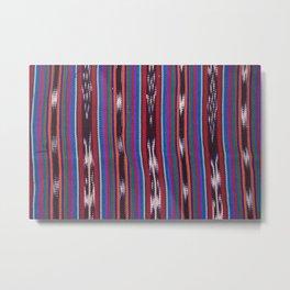 Guatemala - Tipica Fabric Rockslide Metal Print