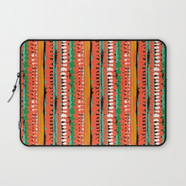 Drops of red paint Laptop Sleeve