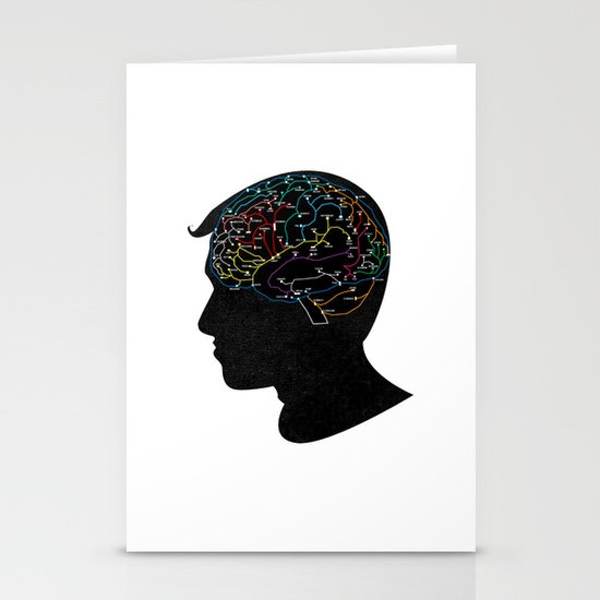 Train of Thought Stationery Cards