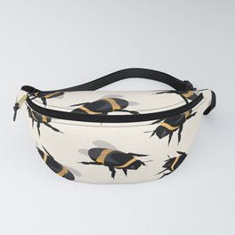 Bumble Bee Print Fanny Pack