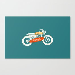 weekend pleasure riding Canvas Print