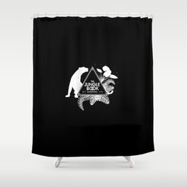 The Jungle Book - Bagheera panther black Shower Curtain