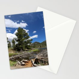 A Rocky Mountian Morning Stationery Cards