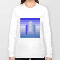 spaceship Long Sleeve T-shirts featuring Spaceship by Cs025