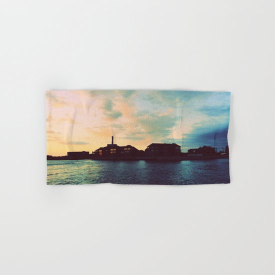 Sunset Off the wAter Hand & Bath Towel