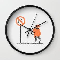 Bummer Wall Clock