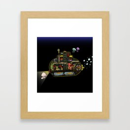 suBEARine Framed Art Print