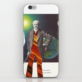 Professor OrangePants iPhone Skin