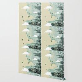 Drifting on a cloud Wallpaper