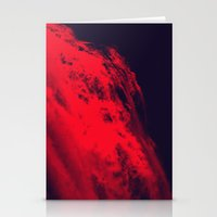 blood Stationery Cards featuring BLOOD by RUEI