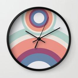 Abstract circules Wall Clock