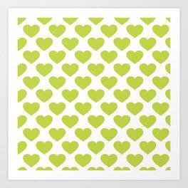 BOH Lime Art Print