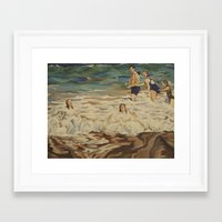 puerto rico Framed Art Prints featuring Puerto Rico by Laura Teed