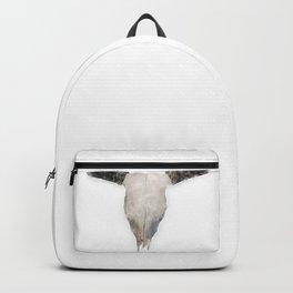 Bull Skull Waterpainting Backpack