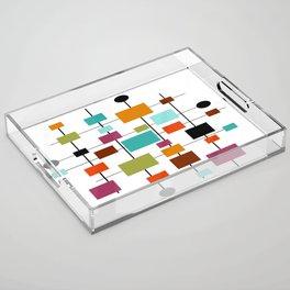Mid-Century Modern Art 1.3.1 Acrylic Tray