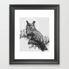 Moon Vertigo Framed Art Print