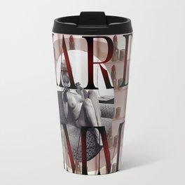 Hard Femme - Pin Up Girl Travel Mug