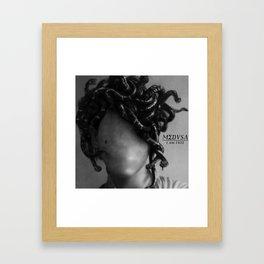 The Medusa Framed Art Print