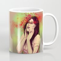wonder Mugs featuring Wonder by Alina Rubanenko