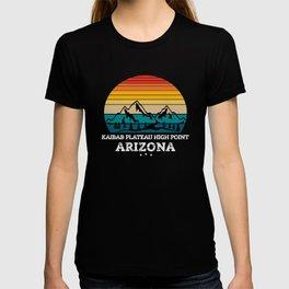 KAIBAB PLATEAU HIGH POINT Arizona T-shirt