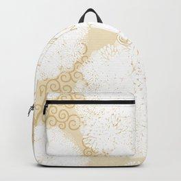 Golden unicorn Backpack