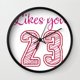 Nobody likes you When You're 23 Wall Clock