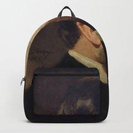 Adolphe Yvon - Portrait of Baron Georges-Eugne Haussmann Backpack
