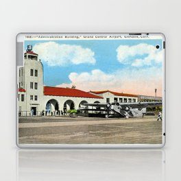 Grand Central Airport, Glendale, California 1930 Laptop & iPad Skin
