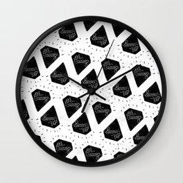 OH DAAAIN  Diamond Wall Clock