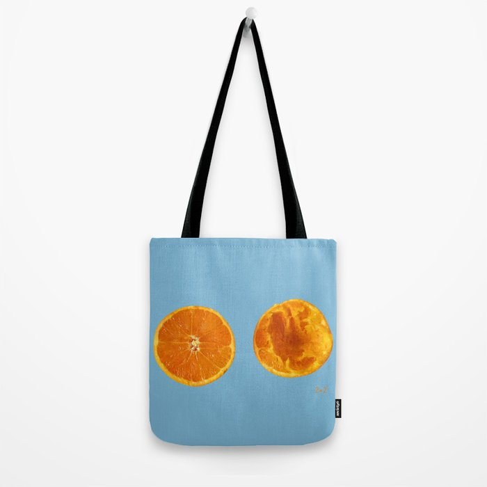 Mi media naranga / My better half Tote Bag