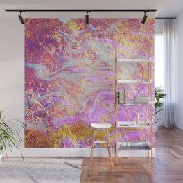 Vibrant Glitter Marble Wall Mural