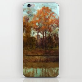 Autumn River iPhone Skin