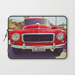 Red Volvo classic Laptop Sleeve